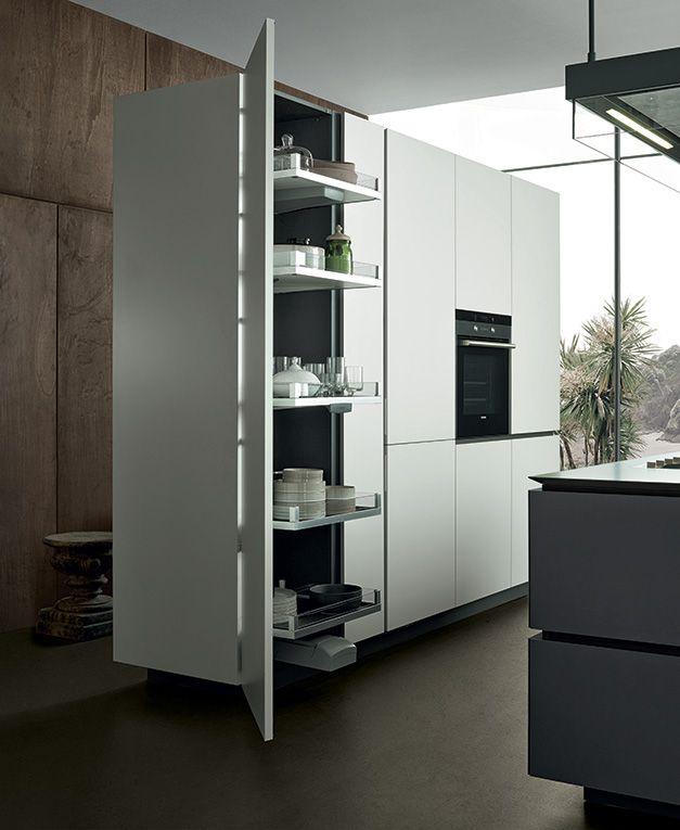 La cucina artex in stile contemporaneo arredare con stile for Kitchen tall unit design