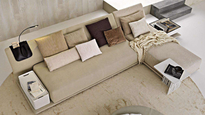 Il divano scomponibile e versatile di molteni arredare con stile - Divano letto cassina ...