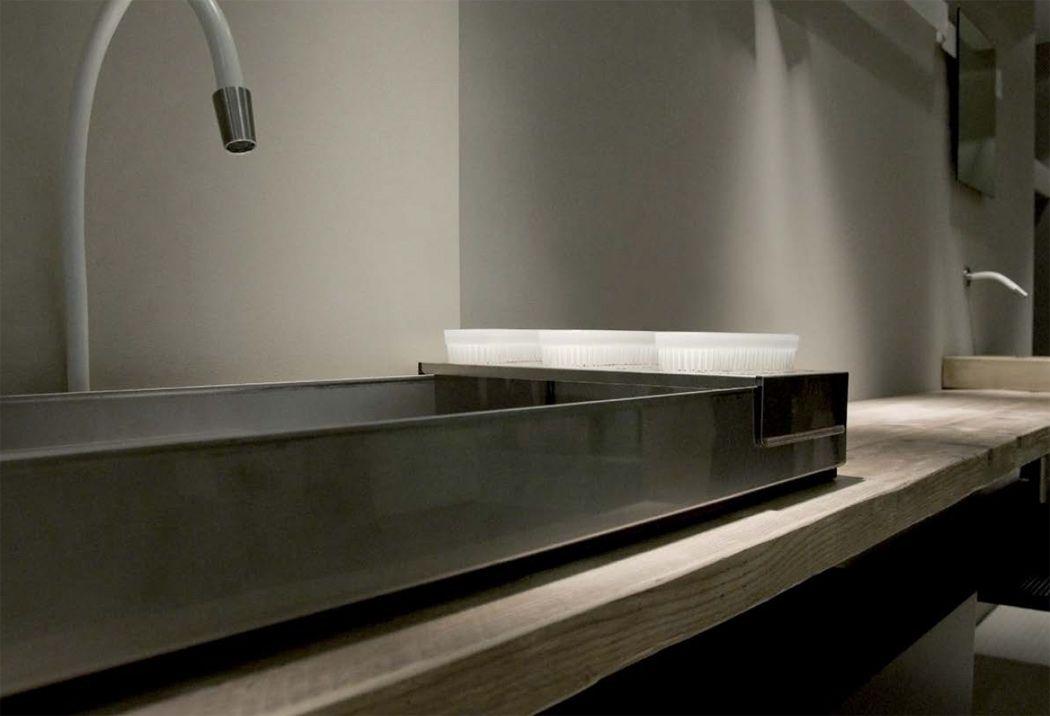 Un bagno in stile industriale arredare con stile for Mobili industrial