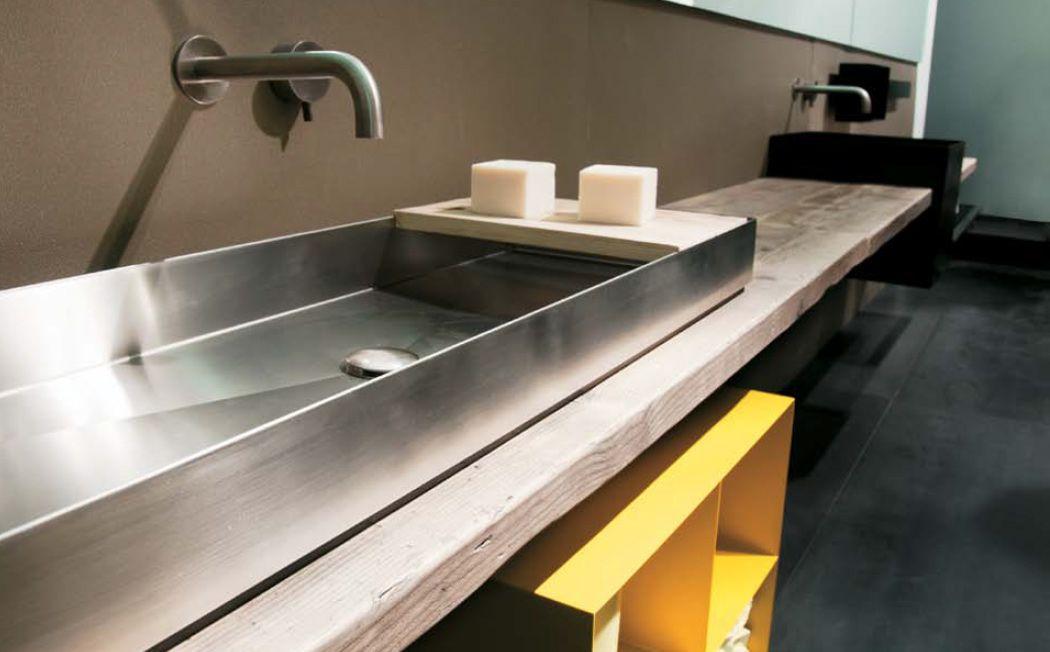 Un bagno in stile industriale  Arredare con stile