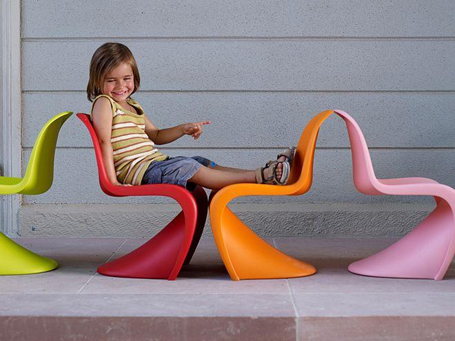 sedia panton chair un icona del design prodotta da vitra arredare con stile. Black Bedroom Furniture Sets. Home Design Ideas