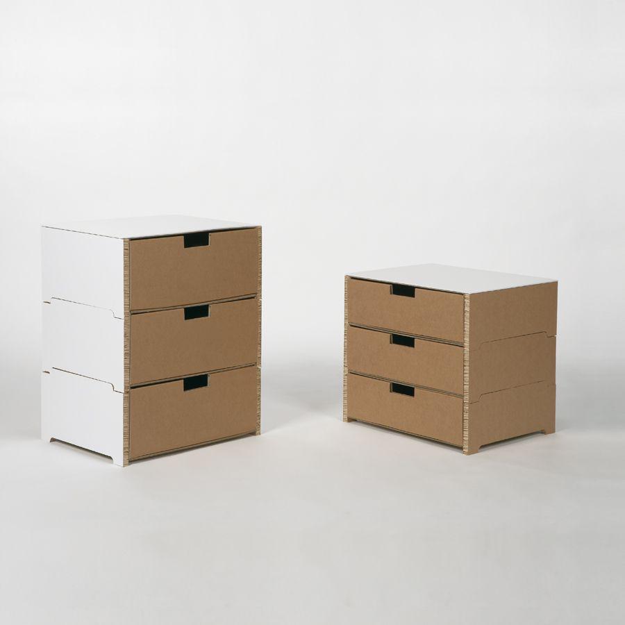 I mobili e complementi in cartone di kubedesign arredare - I mobili di luca ...