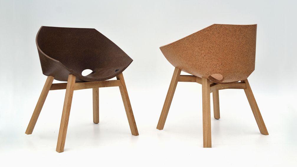 Corkigami: la sedia in sughero di carlos ortega arredare con stile