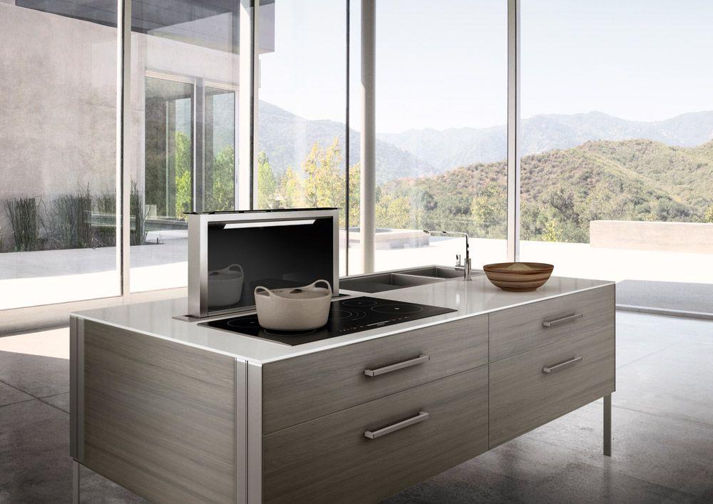 Soffitto Aspirante Cucina: Cappa cucina isola cucine moderne come.
