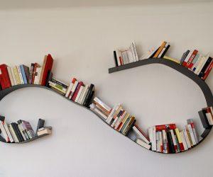 La libreria modulabile bookworm di kartell