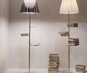 BIBLIOTHEQUE NATIONALE LA LAMPADA DI FLOS SI FA LIBRERIA