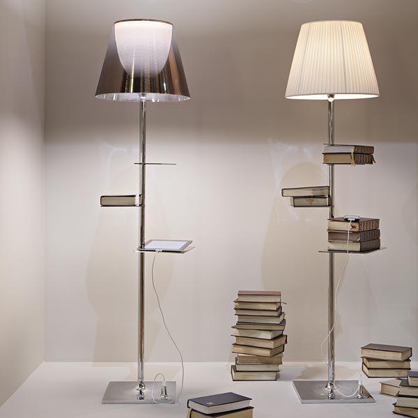 Bibliotheque nationale la lampada di flos si fa libreria for Lampada a terra flos