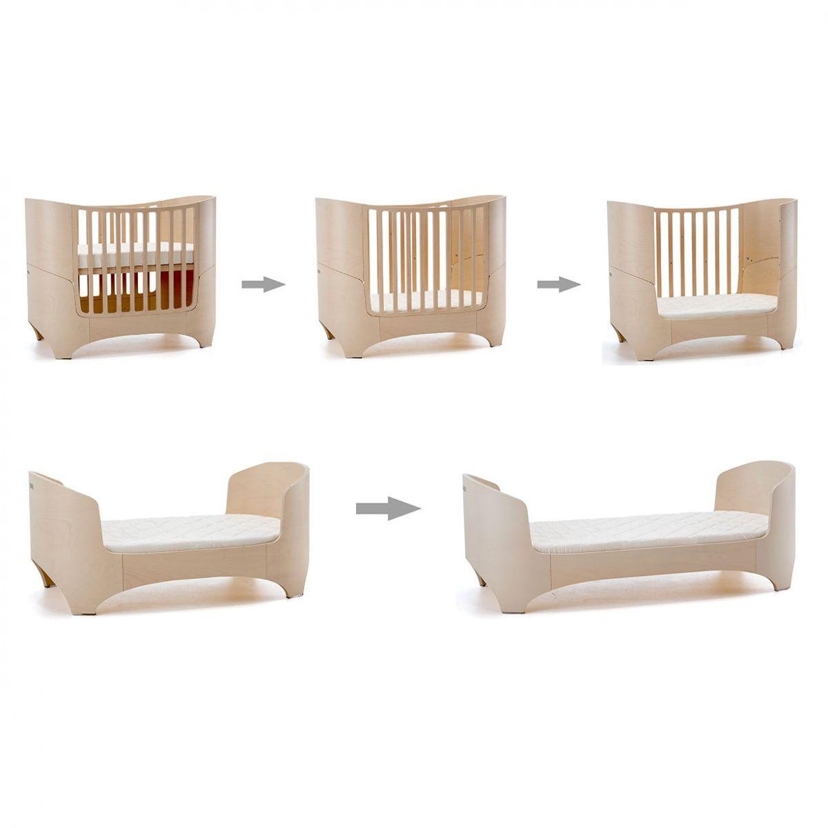 Design eco green la culla che diventa lettino arredare for Misure materasso lettino
