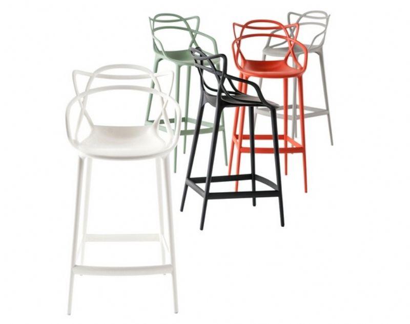 Sgabello master stool di kartell arredare con stile - Tabouret de bar starck ...