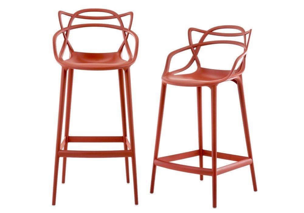 sgabello master stool di kartell arredare con stile. Black Bedroom Furniture Sets. Home Design Ideas