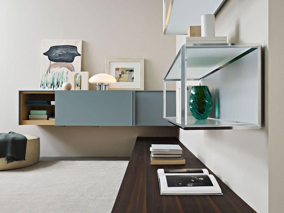 Con pass word molteni ridisegna il living arredare con stile for Mobili soggiorno design outlet