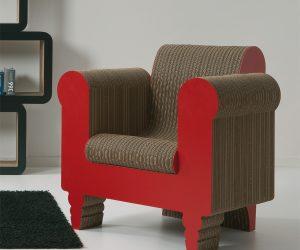 I mobili e complementi in cartone di Kubedesign