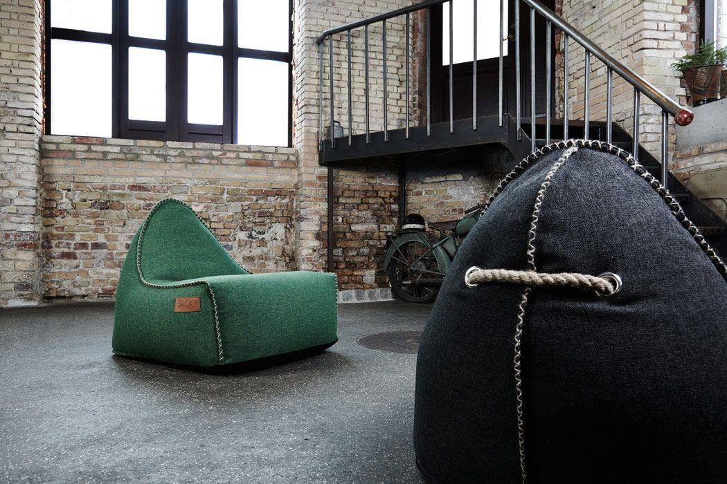 retro it il pouf outdoor in stile vintage di sack it arredare con stile. Black Bedroom Furniture Sets. Home Design Ideas