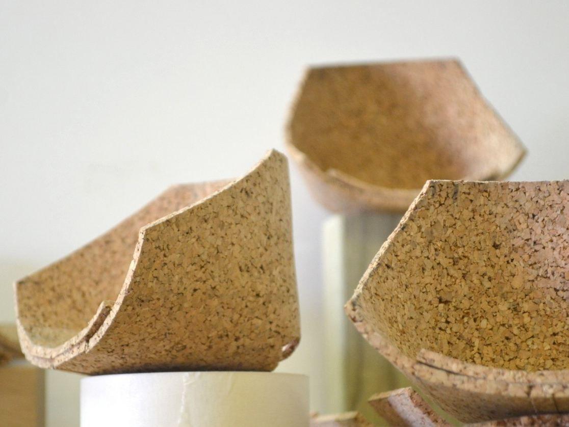 Corkigami la sedia in sughero di carlos ortega arredare con stile