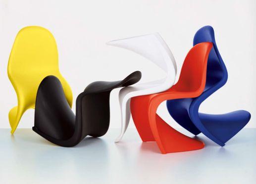 Sedia Panton chair un'icona del design prodotta da Vitra  Arredare ...