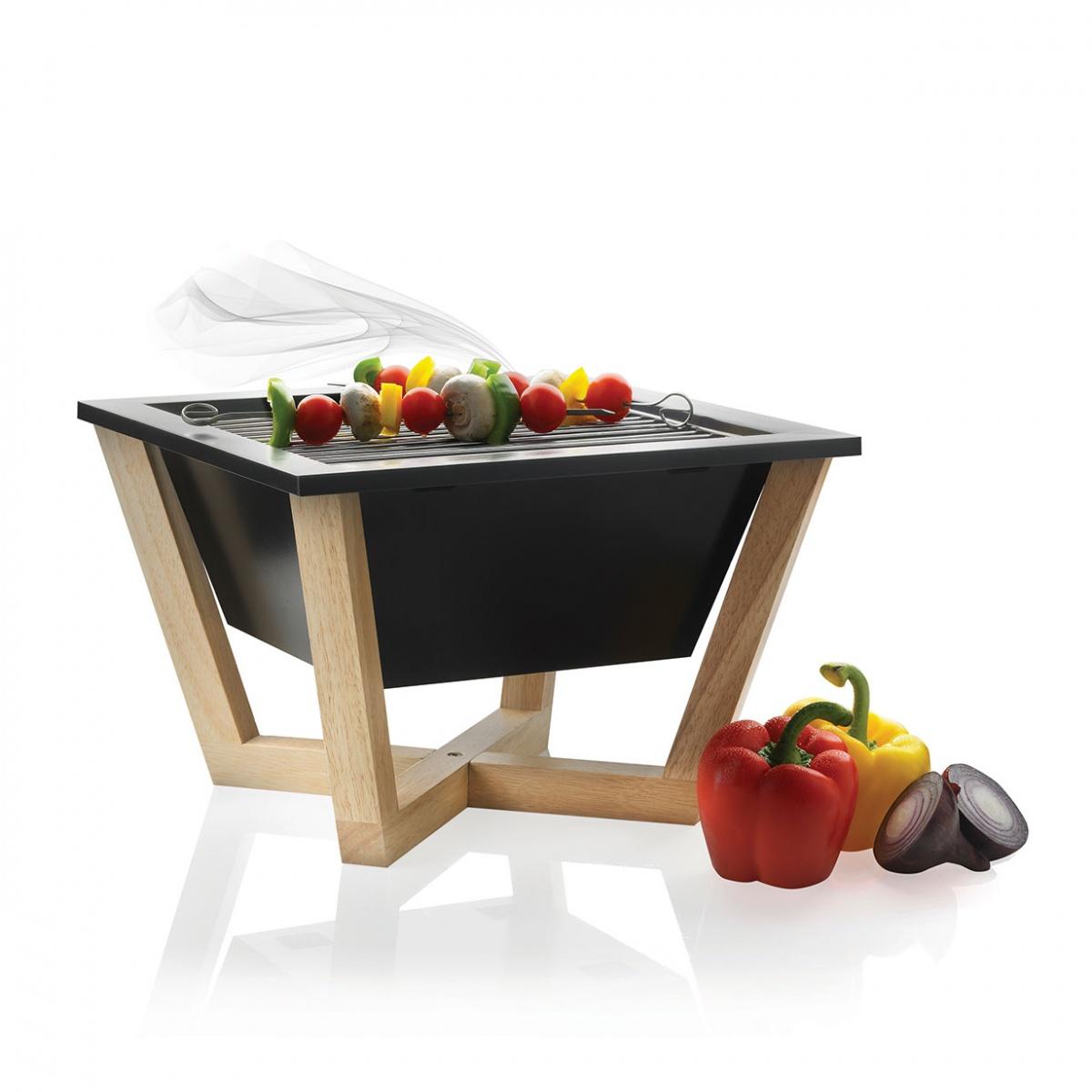 nido il barbecue portatile di xd design arredare con stile. Black Bedroom Furniture Sets. Home Design Ideas