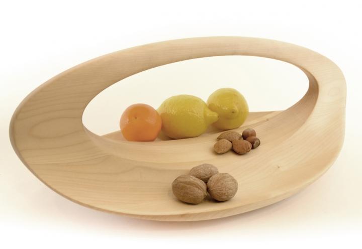 Loop il centrotavola secondo sloow wood arredare con stile - Portafrutta in legno ...