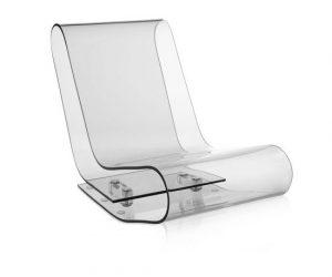 Sedute in policarbonato trasparente di Kartell