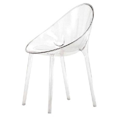 Sedute in policarbonato trasparente di Kartell | Arredare con stile