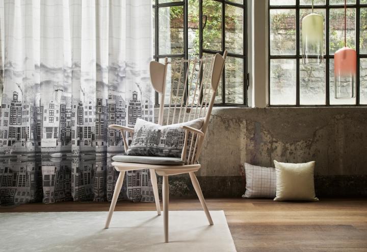 Elite la nuova collezione di tessuti di fischbacher for Tessuti da arredamento