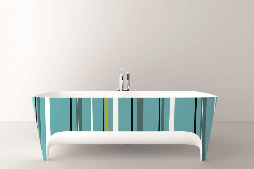 Accademia la vasca da bagno freestanding di teuco - Vasche da bagno ad incasso ...
