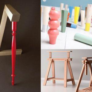 Cavalletti, gambe e piedini personalizzati per tavoli e scrivanie