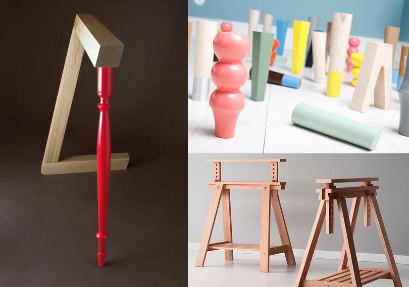 Cavalletti gambe e piedini personalizzati per tavoli e - Gambe per tavolo ikea ...