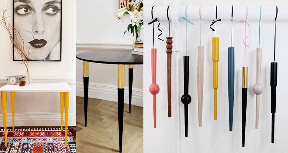 Cavalletti gambe e piedini personalizzati per tavoli e for Gambe per mobili ikea