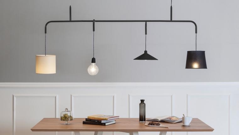 Lampada a sospensione design per tavolo da pranzo e living  Arredare con stile