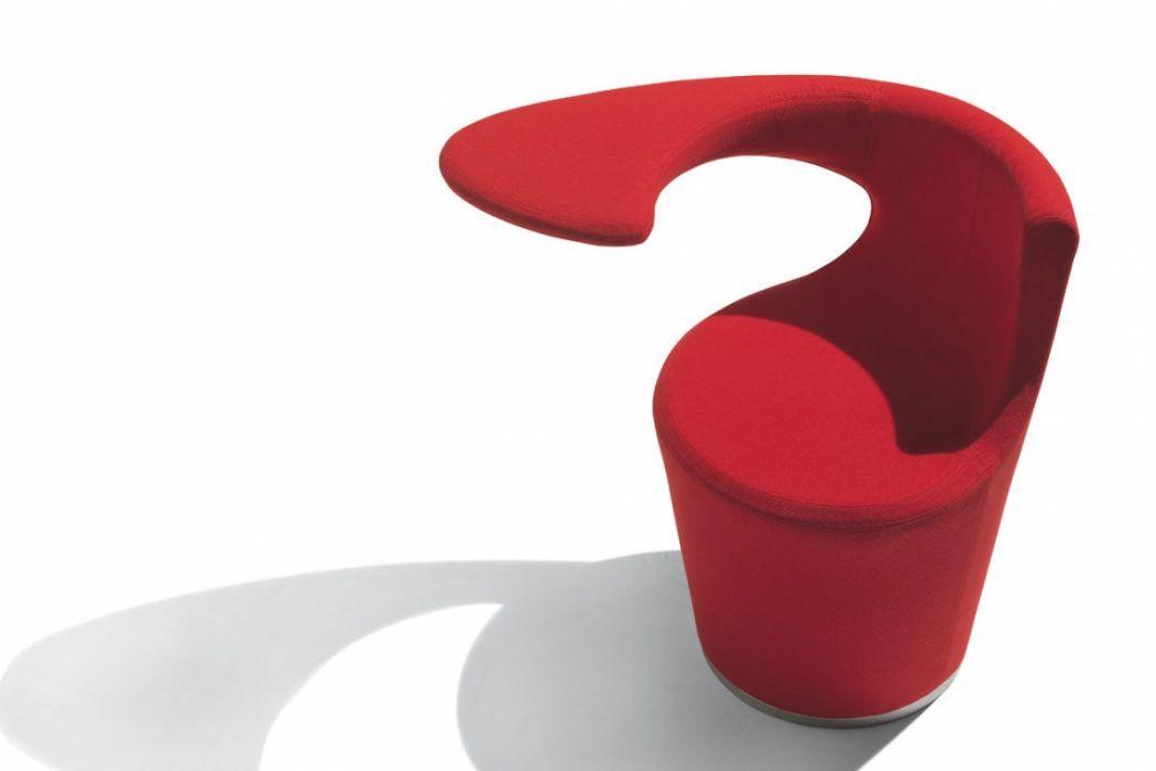 Divina la poltrona design monoblocco del brand felice for Poltrona design