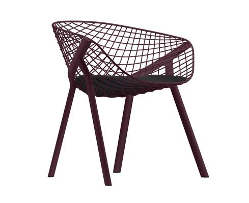 Sedia design in metallo kobi di alias arredare con stile for Sedie design metallo