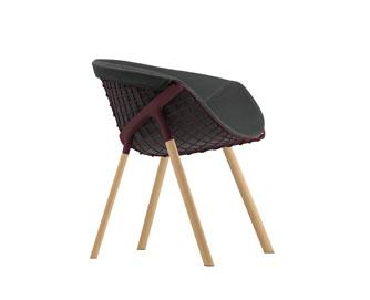 Sedia design in metallo kobi di alias arredare con stile for Sedia design moderno