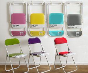 Sedie pieghevoli design: il bestseller Pantone Chair di Seletti
