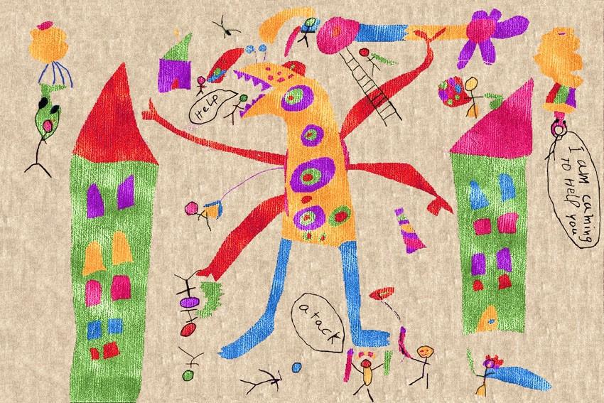 Tappeti Colorati Per Bambini : I tappeti illulian per la stanza dei bambini arredare con stile