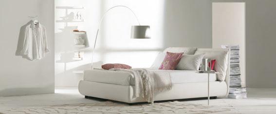 Raffinato e confortevole il letto malou di bontempi arredare con stile - Letto malou bontempi ...