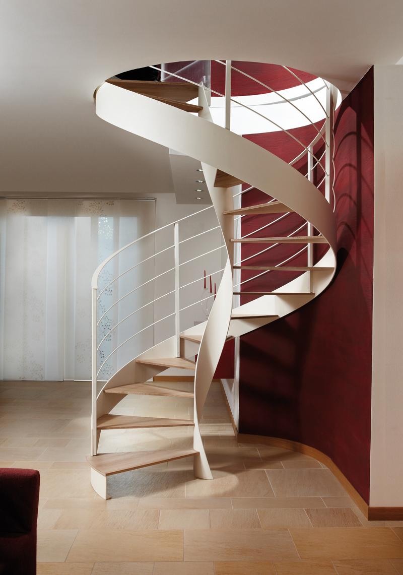 Scale elicoidali design in legno e metallo rizzi - Scale di design ...