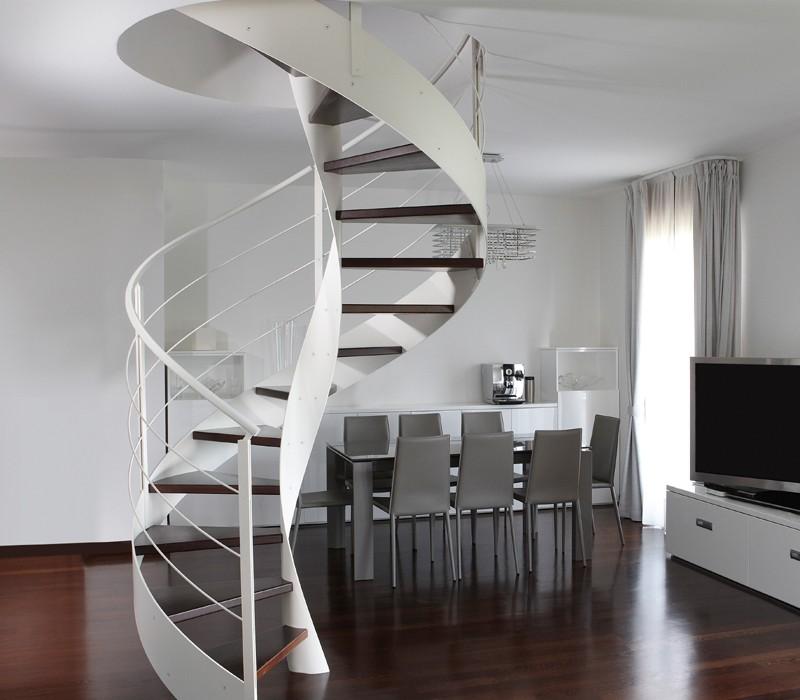 Scale elicoidali design in legno e metallo rizzi - Scale elicoidali verona ...