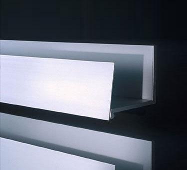 Le mensole bagno design minimale in alluminio di boffi for Mensole in alluminio
