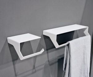 Gli accessori design per il bagno Qgini di Antonio Lupi