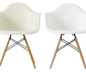 Plastic Armchair: le sedie in plastica di Charles Eames icone del design