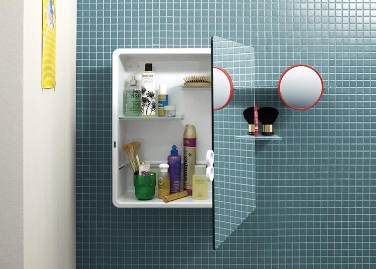 specchio contenitore per il bagno kali di authentics | arredare ... - Specchio Contenitore Bagno Prezzi