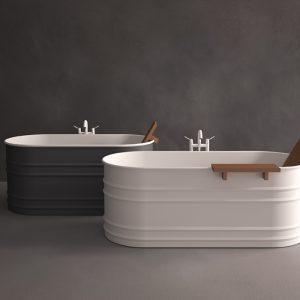 Vasca design centro stanza Vieques di Agape