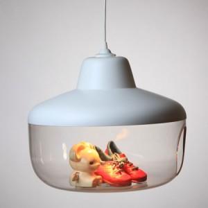Illuminazione di design: la lampada a sospensione Favourite Things per esporre e stupire