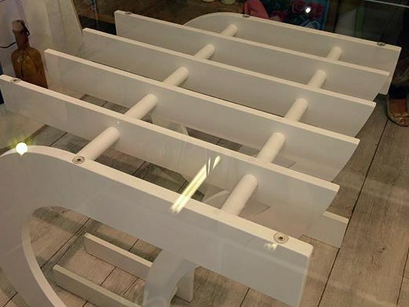 Tavolo da pranzo organ di makers design arredare con stile for Produttore di blueprint piano piano