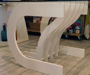 Tavolo da pranzo Organ di Makers Design