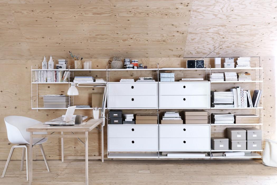 Libreria modulare string semplicemente funzionale for Design ufficio