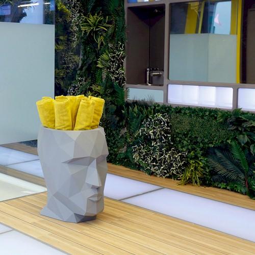 Piante Per Esterno In Vaso : Fioriera adan per interno ed esterno un vaso piante e