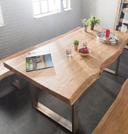 Tavolo in legno grezzo design design casa creativa e - Tavolo legno grezzo design ...