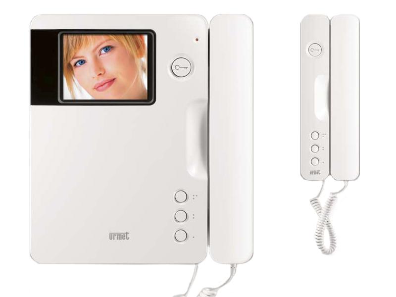Videocitofono urmet signo con cornetta