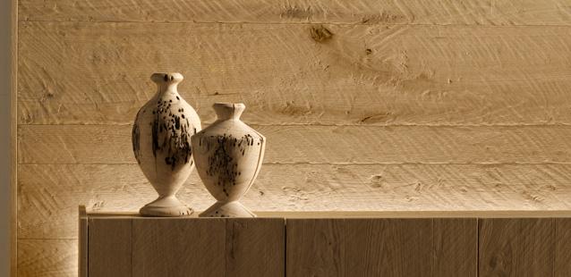 Boiserie rivestimento pareti in legno piallato a mano  Arredare con ...